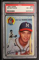 Eddie Mathews [PSA 4]
