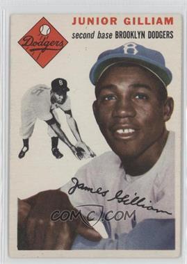 1954 Topps #35 - Junior Gilliam