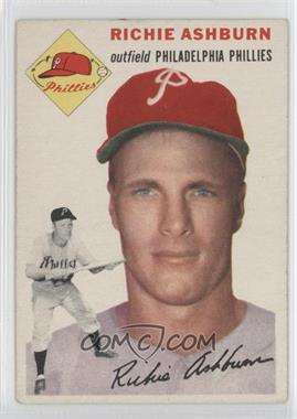 1954 Topps #45 - Richie Ashburn