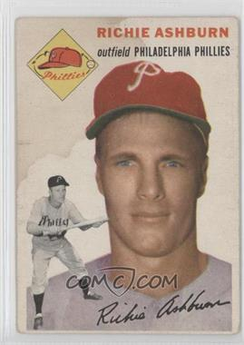 1954 Topps #45 - Richie Ashburn [Good to VG‑EX]