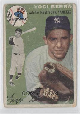 1954 Topps #50 - Yogi Berra [Poor to Fair]