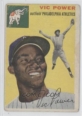 1954 Topps #52 - Vic Power
