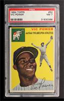 Vic Power [PSA 7]