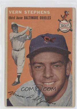 1954 Topps #54 - Vern Stephens