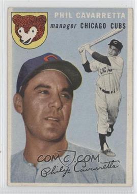 1954 Topps #55 - Phil Cavarretta