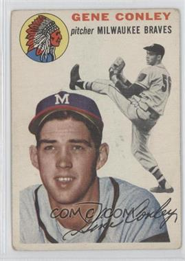 1954 Topps #59 - Gene Conley
