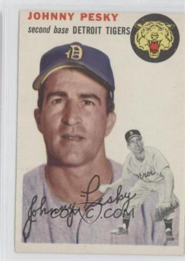 1954 Topps #63 - Johnny Pesky