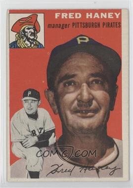 1954 Topps #75 - Fred Haney