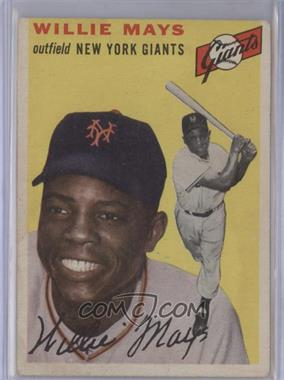 1954 Topps #90 - Willie Mays [Good‑Very Good]