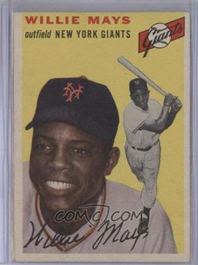 1954 Topps #90 - Willie Mays