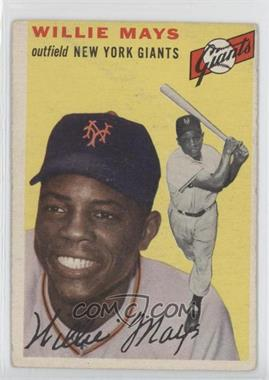 1954 Topps #90 - Willie Mays [Good to VG‑EX]
