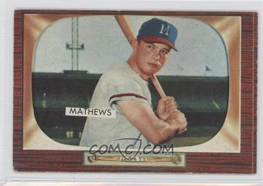 1955 Bowman - [Base] #103 - Eddie Mathews