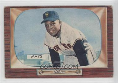 1955 Bowman - [Base] #184 - Willie Mays [Good to VG‑EX]