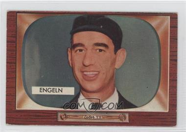 1955 Bowman - [Base] #301 - William Engeln