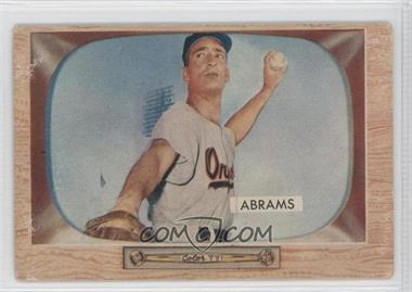 1955 Bowman - [Base] #55 - Cal Abrams [GoodtoVG‑EX]