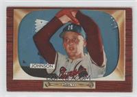 Don Johnson (Error: Ernie Johnson Front) [Good to VG‑EX]