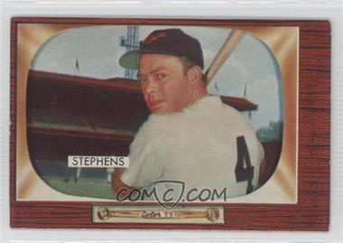 1955 Bowman #109 - Vern Stephens