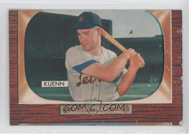 1955 Bowman #132 - Harvey Kuenn
