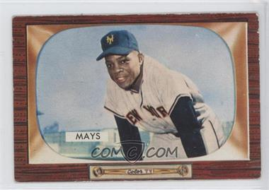 1955 Bowman #184 - Willie Mays