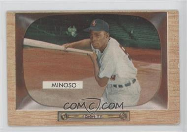 1955 Bowman #25 - Minnie Minoso