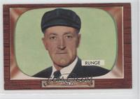 Ed Runge [Good to VG‑EX]