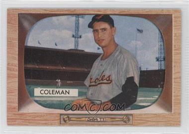 1955 Bowman #3 - Joe Coleman