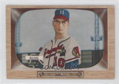 1955 Bowman #43 - Bob Buhl