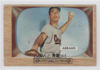 1955 Bowman #55 - Cal Abrams [GoodtoVG‑EX]