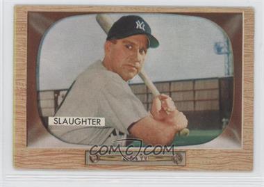 1955 Bowman #60 - Enos Slaughter