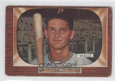 1955 Bowman #82 - Lee Walls [Good to VG‑EX]