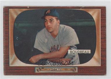 1955 Bowman #89 - Lou Boudreau