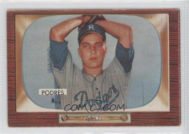 1955 Bowman #97 - Johnny Podres