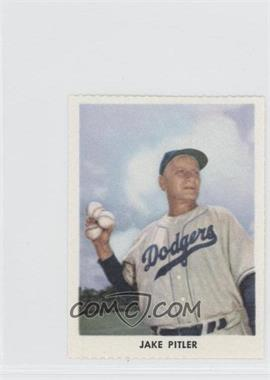 1955 Golden Stamps Brooklyn Dodgers #N/A - Jake Pitler