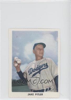 1955 Golden Stamps Brooklyn Dodgers #N/A - Jake Pitler
