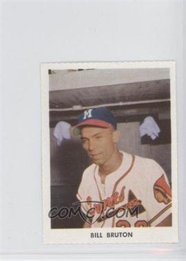1955 Golden Stamps Milwaukee Braves - [Base] #N/A - Bill Bruton