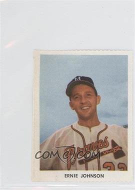 1955 Golden Stamps Milwaukee Braves - [Base] #N/A - Ernie Johnson