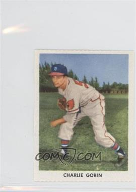 1955 Golden Stamps Milwaukee Braves #N/A - Charlie Gorin