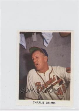 1955 Golden Stamps Milwaukee Braves #N/A - Charlie Grimm
