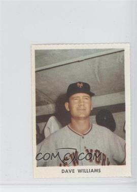 1955 Golden Stamps New York Giants - [Base] #N/A - Davey Williams