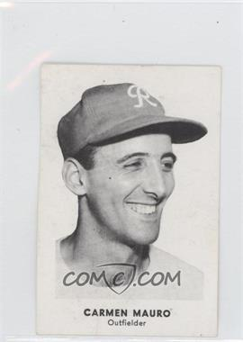 1955 Seattle Rainiers Popcorn #N/A - Carmen Mauro [Good to VG‑EX]
