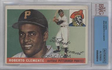 1955 Topps - [Base] #164 - Roberto Clemente [BVG AUTHENTIC]
