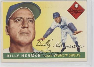 1955 Topps - [Base] #19 - Billy Herman