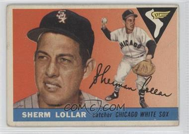 1955 Topps - [Base] #201 - Sherm Lollar [Good to VG‑EX]
