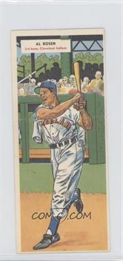 1955 Topps Double Headers - [Base] #1-2 - Al Rosen, Chuck Diering