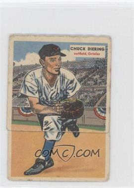1955 Topps Double Headers #1-2 - Al Rosen, Chuck Diering [Good to VG‑EX]