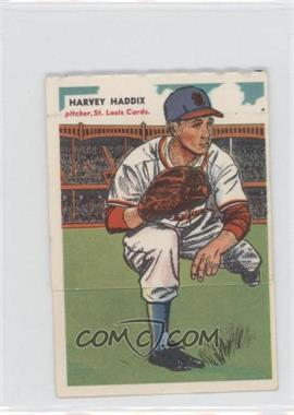1955 Topps Double Headers #41-42 - Harvey Haddix