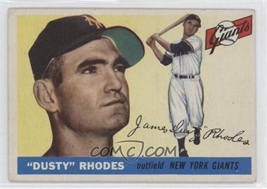 1955 Topps #1 - Dusty Rhodes
