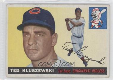 1955 Topps #120 - Ted Kluszewski
