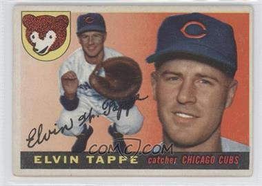 1955 Topps #129 - Elvin Tappe [Good to VG‑EX]