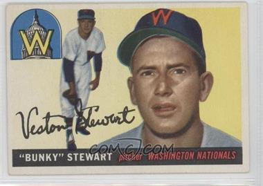 1955 Topps #136 - Bunky Stewart